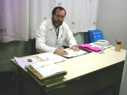 Dr. Sérgio Antonio Oliveira, diretor dos Serviços de Diagnóstico.