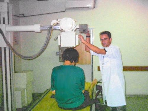 Alexandre Machado Lopes, técnico de Raios-X do Diagnóstico por Imagem.