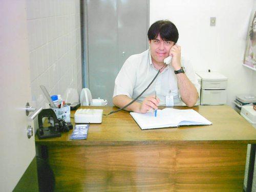 O ouvidor do HGT Cláudio Eduardo Rossi.